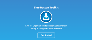 Blue Button Toolkit website