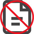 No Documentation Icon