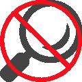 No Visual Inspection Icon