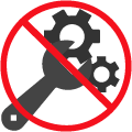 No Test Tool Icon