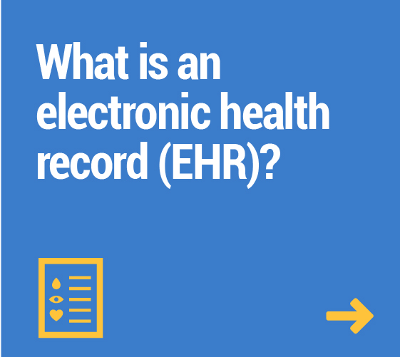 What is an electronic health record (EHR)?