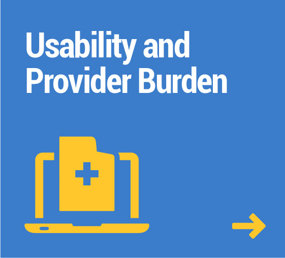 Usability and Provider Burden