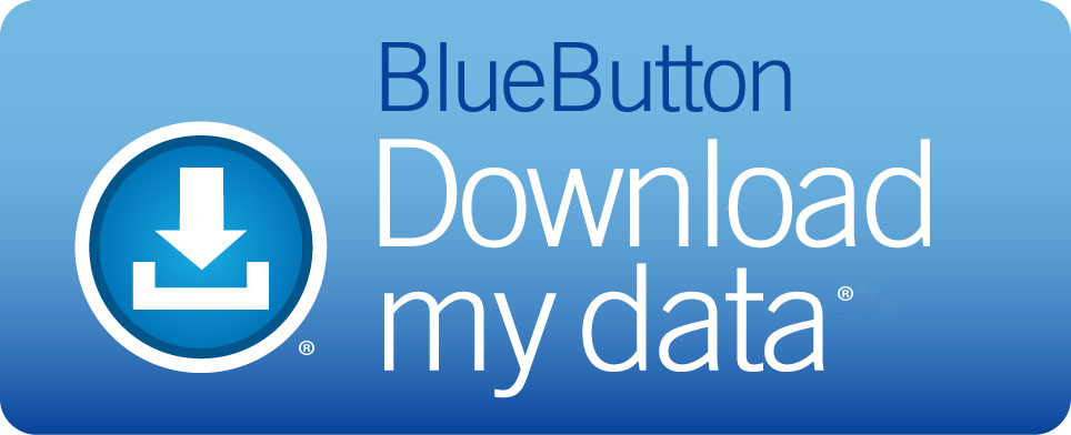Logo: Blue Button - Download My Data