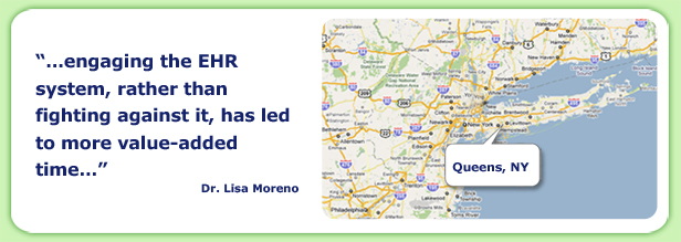 map of queens NY... and quote from Dr. Lisa Moreno