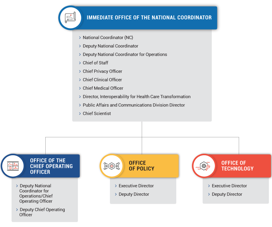 Onc Has 164 Employees Organized Into 4 Offices See The Cur Organizational Chart Below