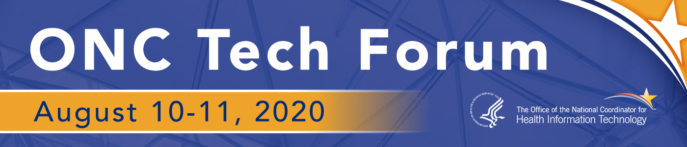 ONC Tech Forum Banner