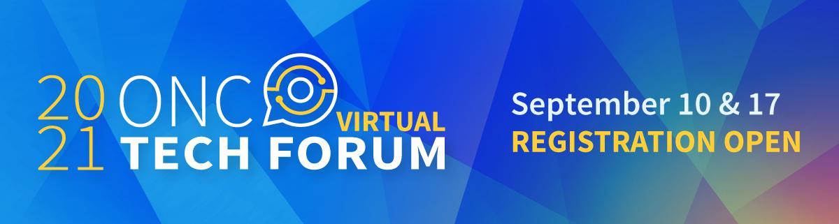 Tech Forum Banner: Dates of Tech Forum are September 10 and September 17