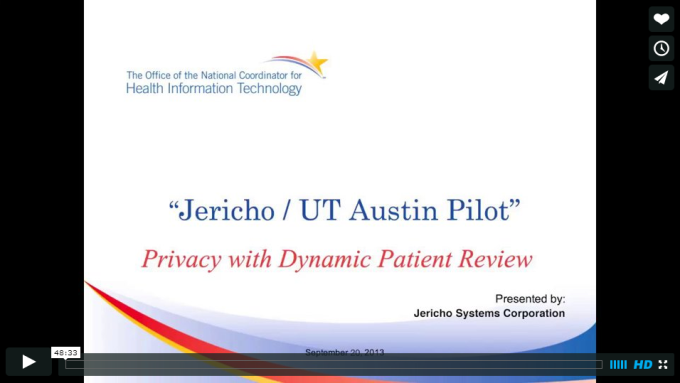 Jericho/UT Austin Pilot Demonstration