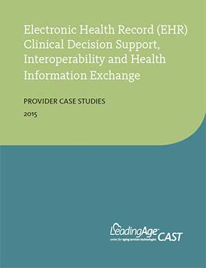 Electronic Health Record (EHR) Clinical Decision Support, Interoperability and Health Information Exchange