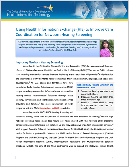 Health Information Exchange Health It Playbook