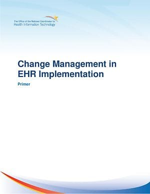 Change Management in EHR Implementation cover