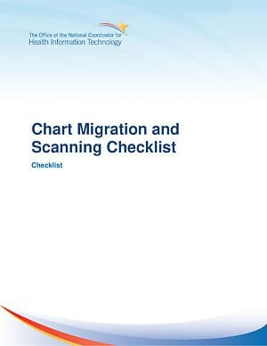Chart Migration Checklist cover