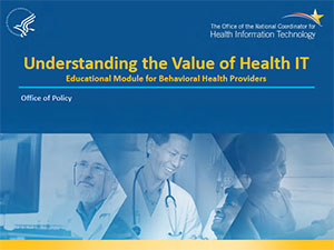 Educational Module for Behavioral Health Providers