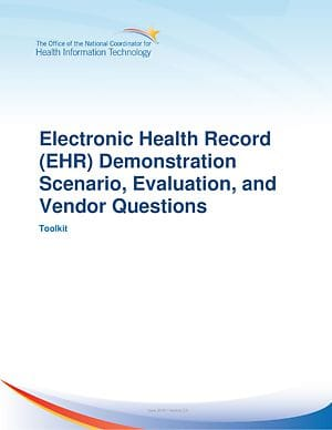 EHR Selection Education cover