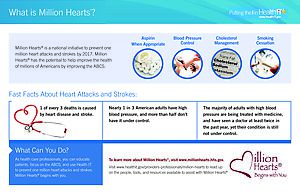 Million Hearts® Infographic