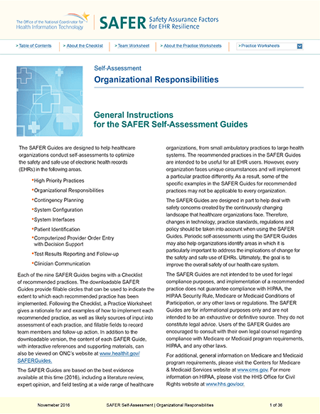 Organizational Responsibilities. PDF. Click to download.