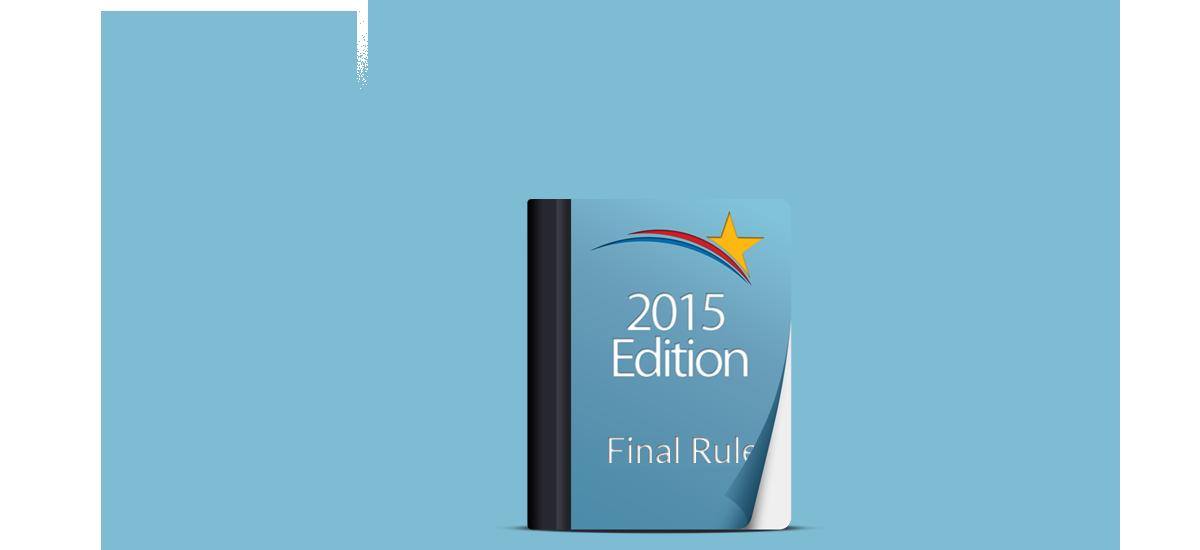 2015 edition final rule