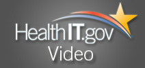 Health I T dot gov logo